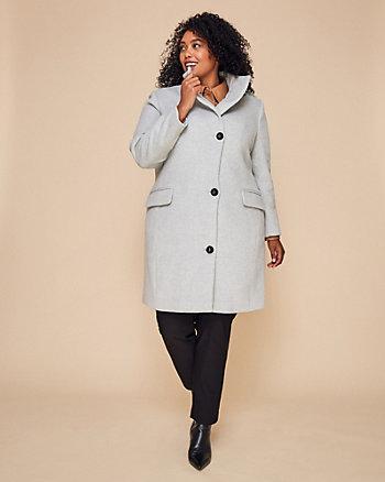 Manteau en mélange de laine