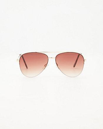 Aviator Gradiant Sunglasses