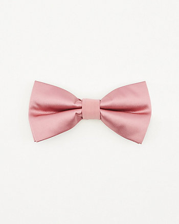 Faux Suede Bow Tie
