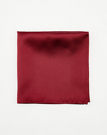 Faux Suede Pocket Square