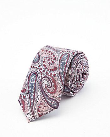 Cravate à motif cachemire