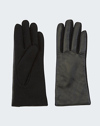 Leather & Wool Gloves