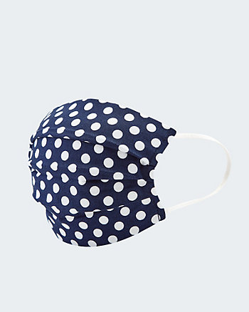 Dot Print Reusable Face Mask