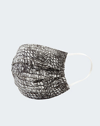 Snake Print Reusable Face Mask