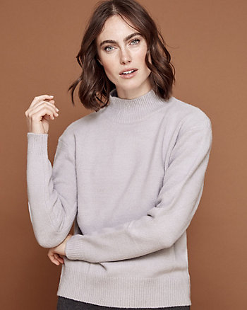 Knit Mock Neck Sweater