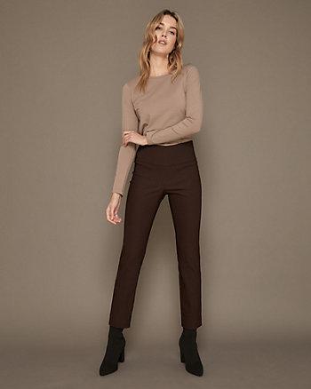 Pantalon en tissu extensible