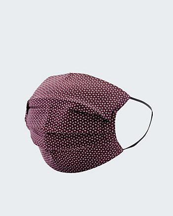 Micro Print Reusable Face Mask