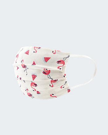 Flamingo Print Reusable Face Mask