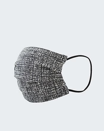 Check Print Reusable Face Mask