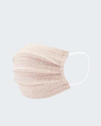 Masque réutilisable d'aspect tweed