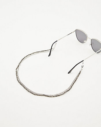 Double Layer Mask & Glasses Chain
