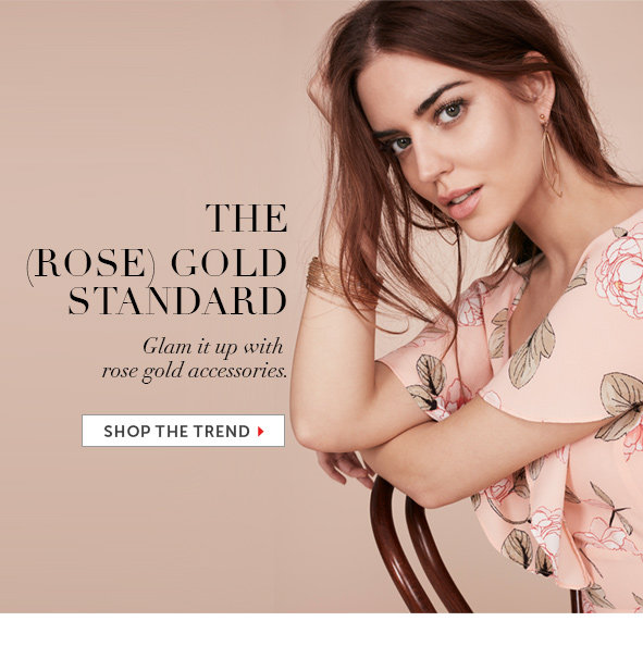 Shop the Rose Gold Trend