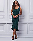 Stretch Lace Trumpet Dress