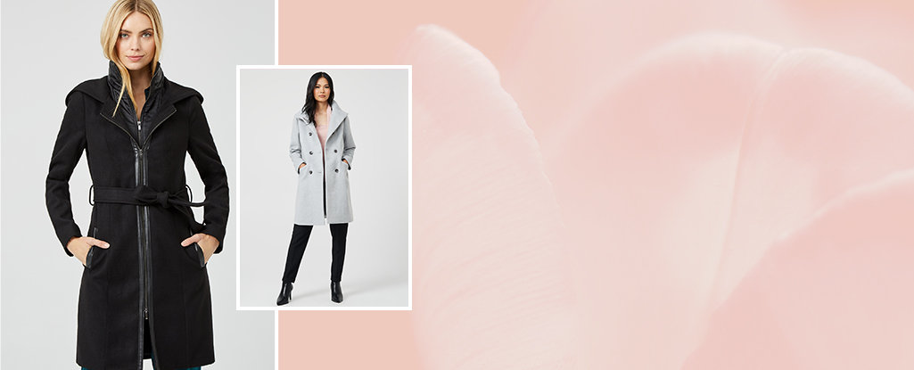 Cozy Coats & Jackets. From dressy to casual, our stylish coats are sure to keep you cozy.