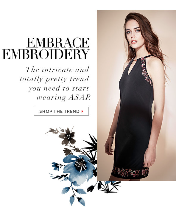 Shop Embroidered Dresses