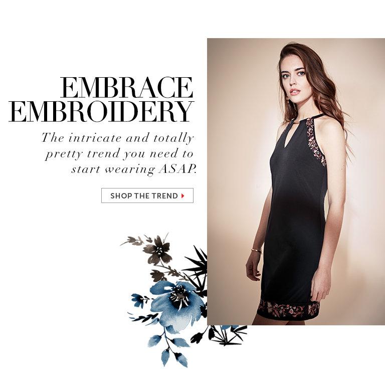 Shop Embroidered Dresses