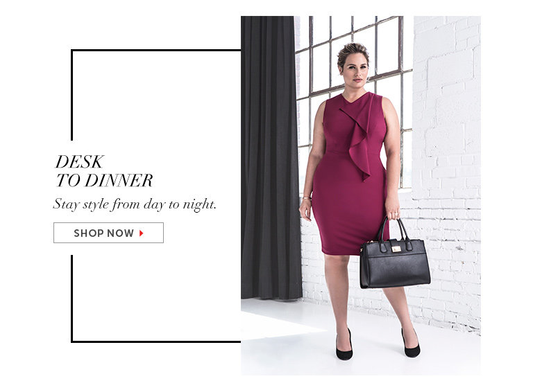 Shop Desk-to-Dinner Dresses
