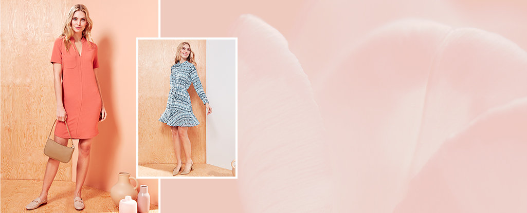 Perfect Dresses. Make every day a dress day with these fresh new styles.