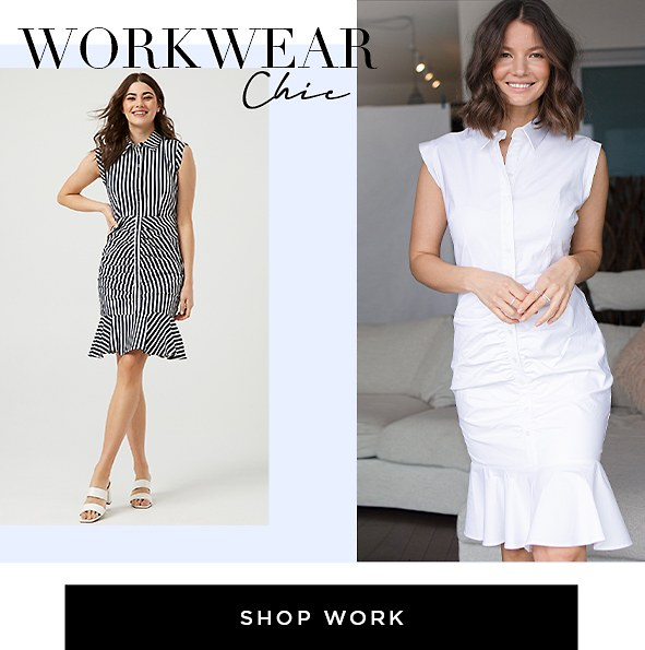 Date Night-In. Shop Work Dresses