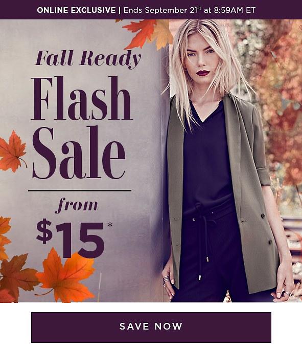 Shop The Flash Sale