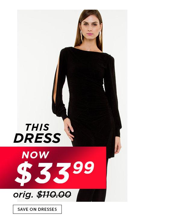 Shop Black Friday Deals on Outlet Dresses