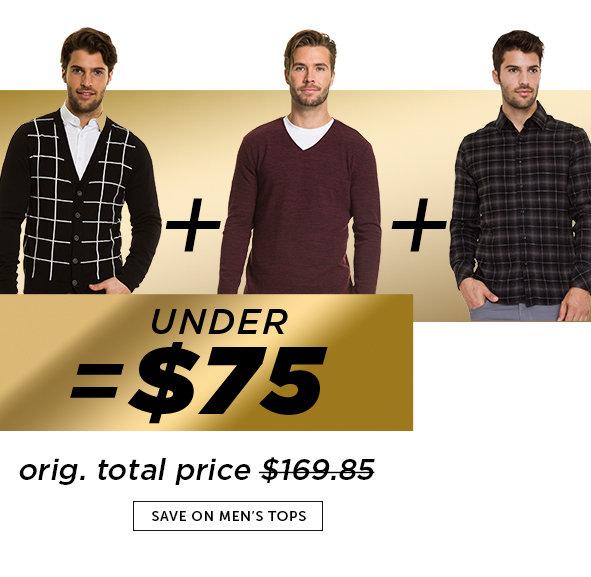 Shop Black Friday Deals on Men's Tops