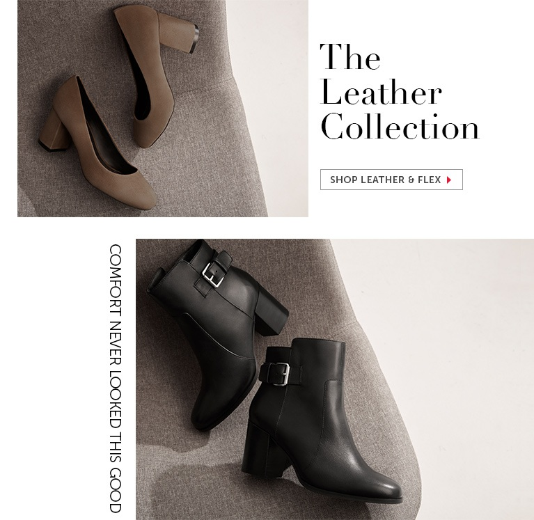 Shop Leather and Flex Shoes