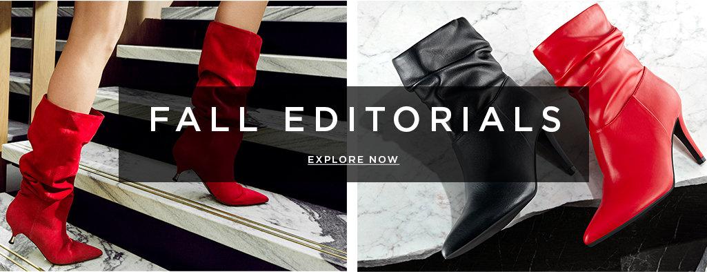 FALL EDITORIALS. EXPLORE NOW >