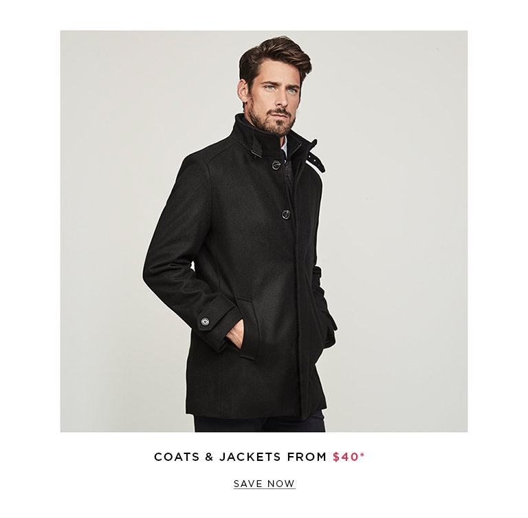Save on Outlet Coats & Jackets for Men