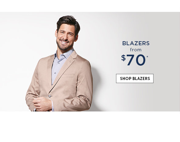 Save on Outlet Blazers for Men