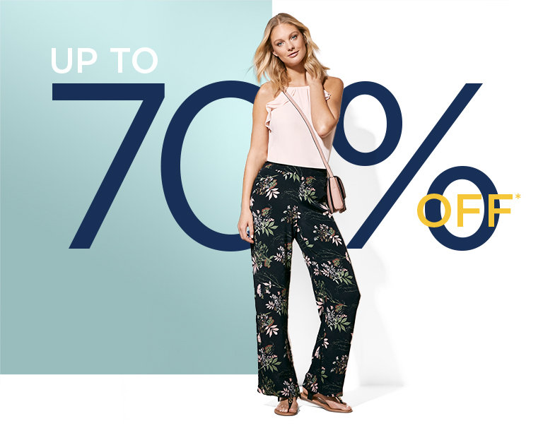 Save on Outlet Tops for Women