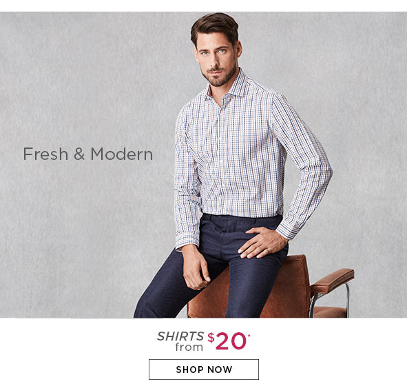 Save on Outlet Shirts for Men