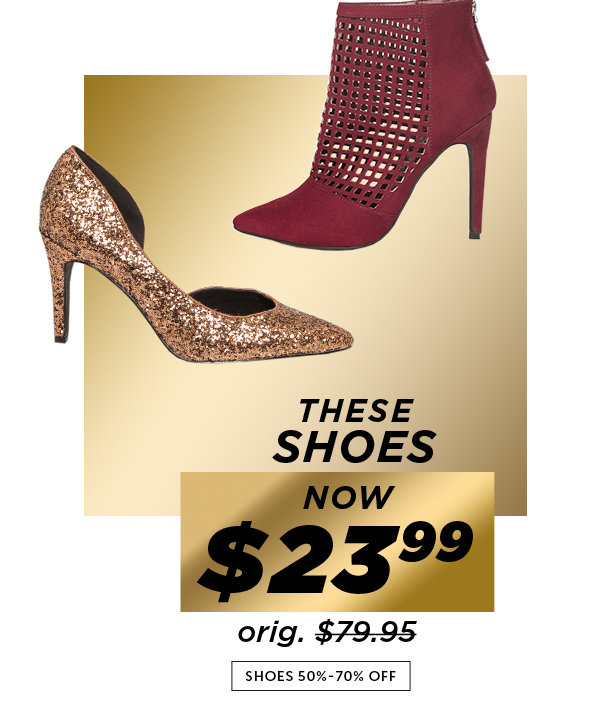 Shop Black Friday Deals on Outlet Shoes