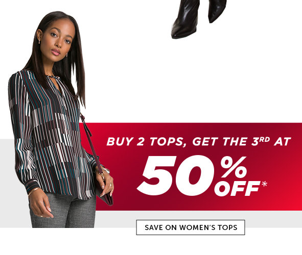Shop Black Friday Deals on Women's Outlet Tops