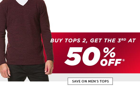 Shop Black Friday Deals on Men's Outlet Tops