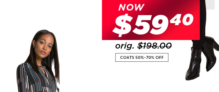 Shop Black Friday Deals on Outlet Coats