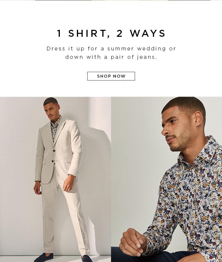 1 shirt, 2 ways