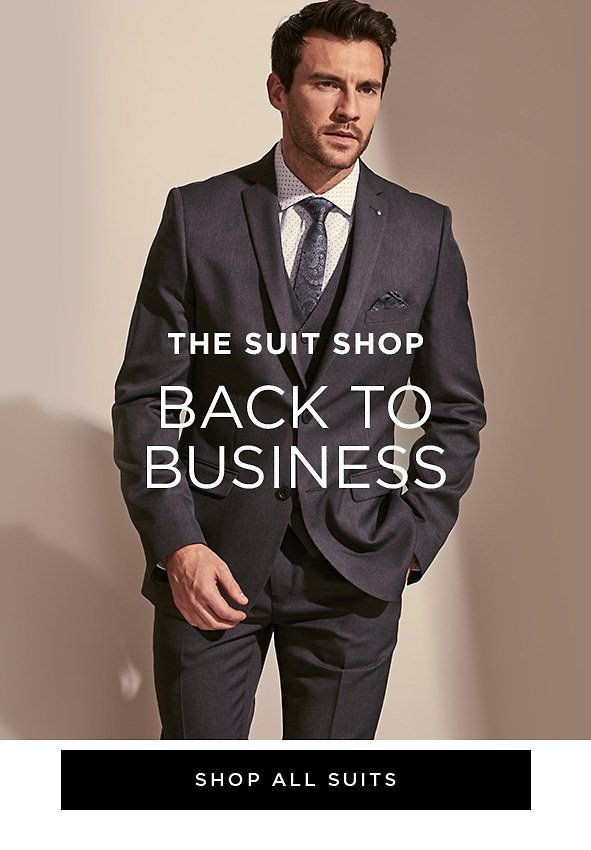 The Suit Shop. Back to Business. Shop All