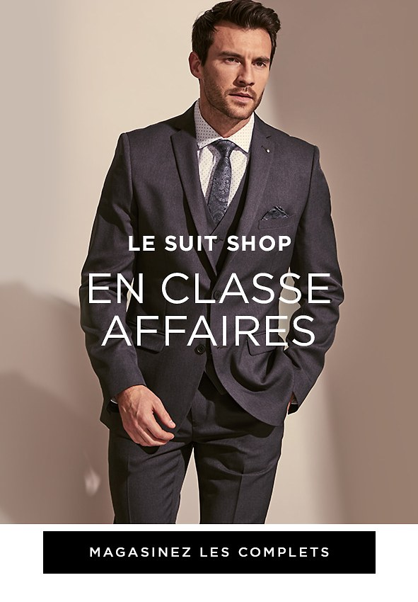 En classe affaires. Magasinez les complets >