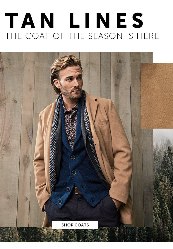 Shop Coats for Men