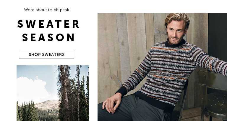 Shop Sweaters for Men