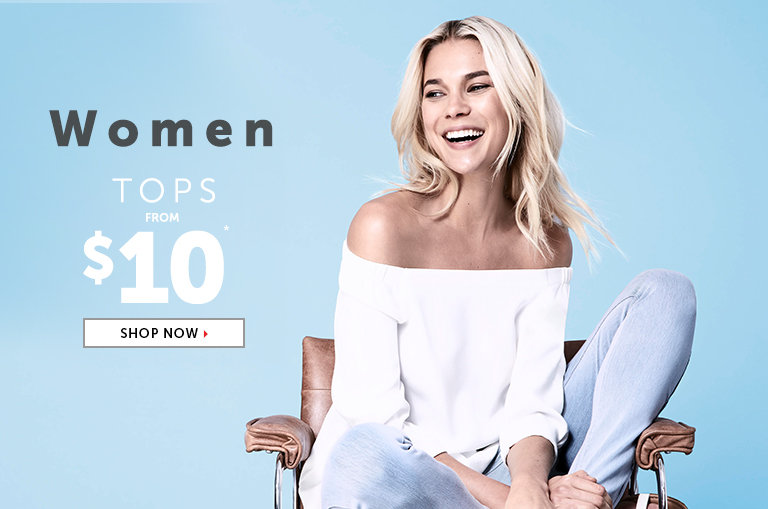 Shop Outlet Tops for Women