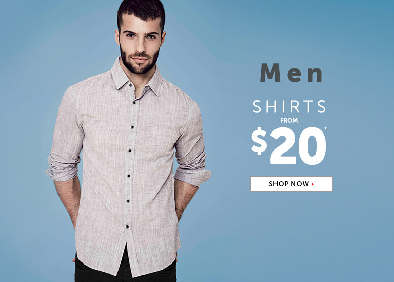 Shop Outlet Shirts for Men