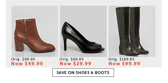 Save on Outlet Shoes and Boots for Women
