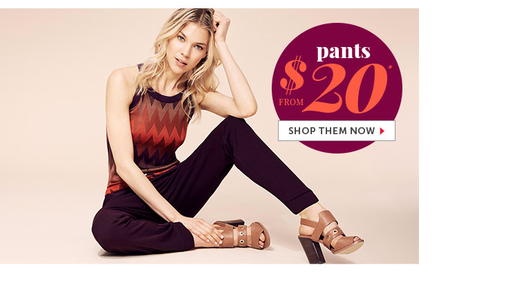 Shop Outlet Pants for Women