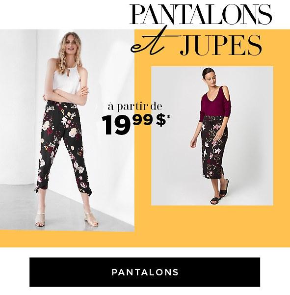 Magasinez les pantalons de l'entrepôt