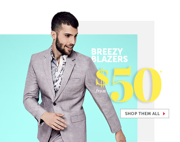 Shop Outlet Blazers for Men