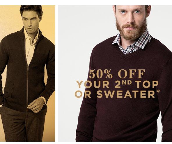 Shop Men's Tops & Sweaters Sale