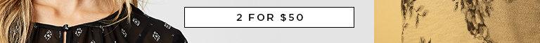 Shop Women's 2 for $30 Tops