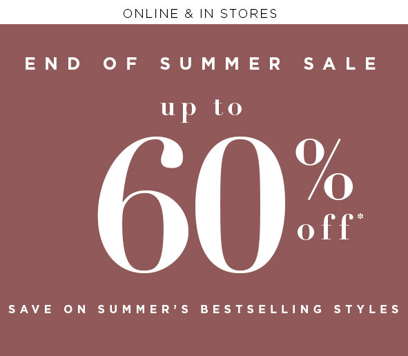 Online & In Stores - Further markdowns just added!